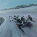 Bentley painting by Simon Taylor